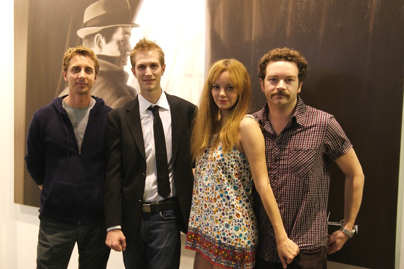 Sky, Alex, Bijou Phillips & Daniel Masterson