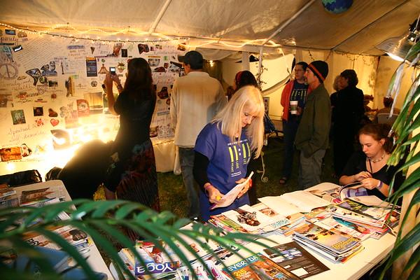 Artist Alex Grey Sound & Light Event 3, Wings Unity St Pete FL, Photos  by Keth 11 13 09