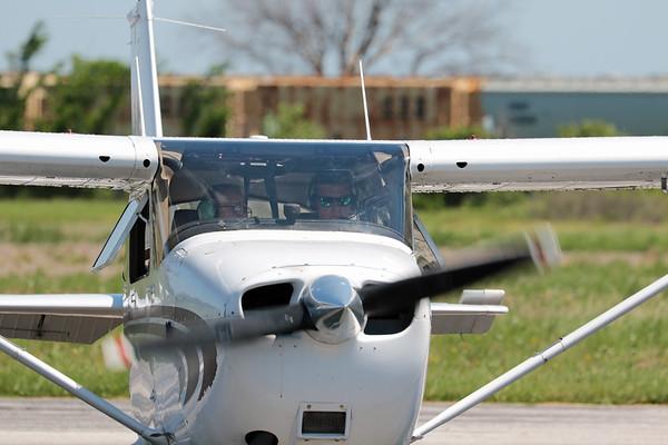 Alex's First Flight