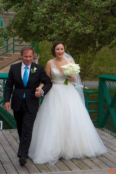 David escorts the bride.<br /> IMG_8739