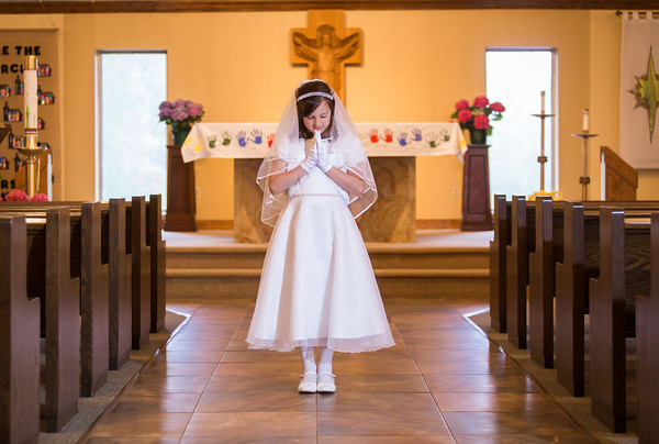 Aliah's First Holy Communion