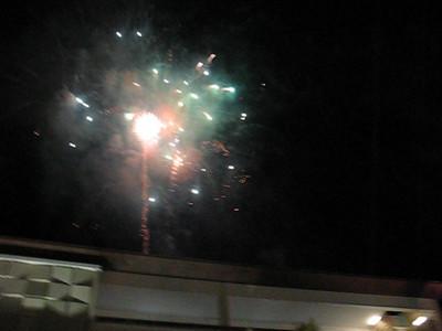 Fun video of fireworks at the Aliante Casino opening in Las Vegas.