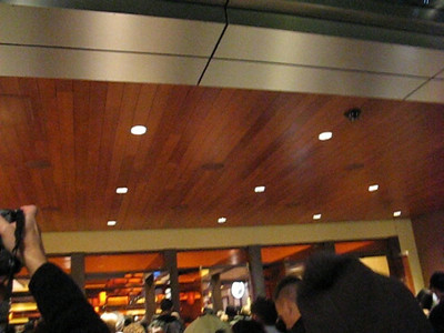 Video of doors opening and crowds of people entering the Aliante Casino opening in Las Vegas.