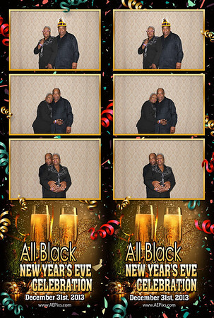 All Black NYE 2014