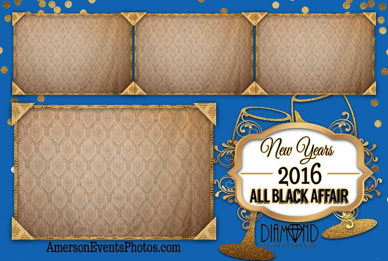 All Black Affair New Years 2016