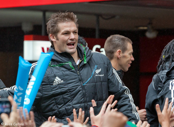 All Blacks RWC Parade 2011