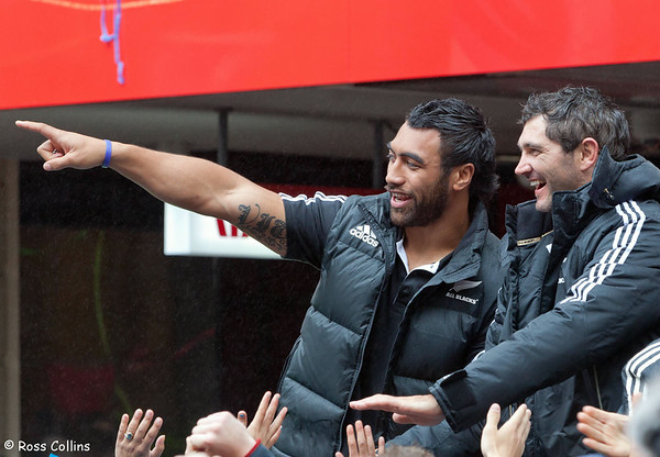 All Blacks Rugby World Cup Victory Parade, Wellington, 26 October 2011