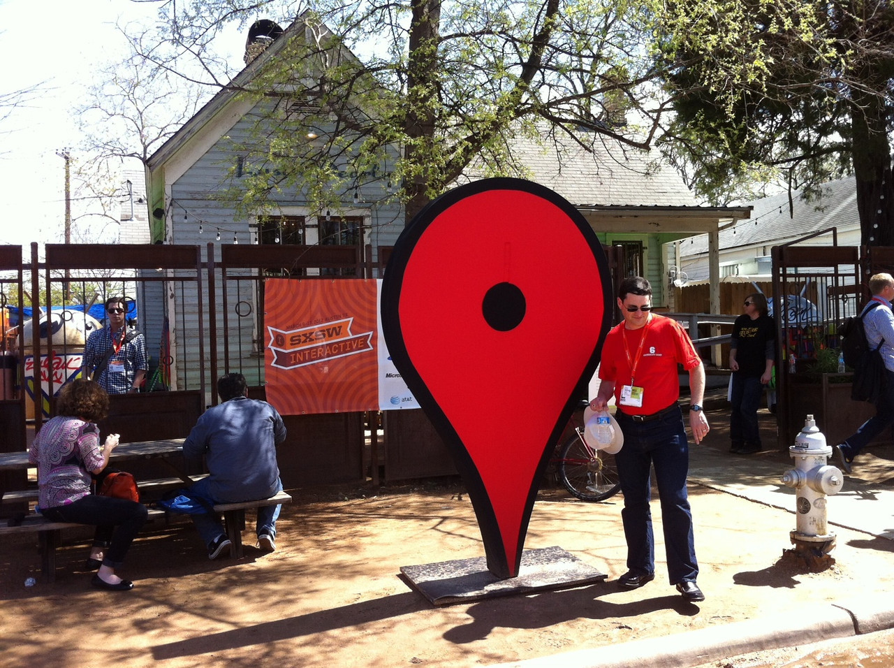 Google Village at SXSW.