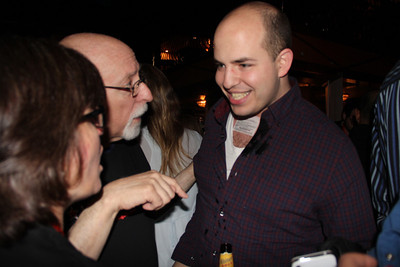 New York Times reporter Brian Stelter agrees to wear a temporary AllThingsD tattoo (on his neck, no less).