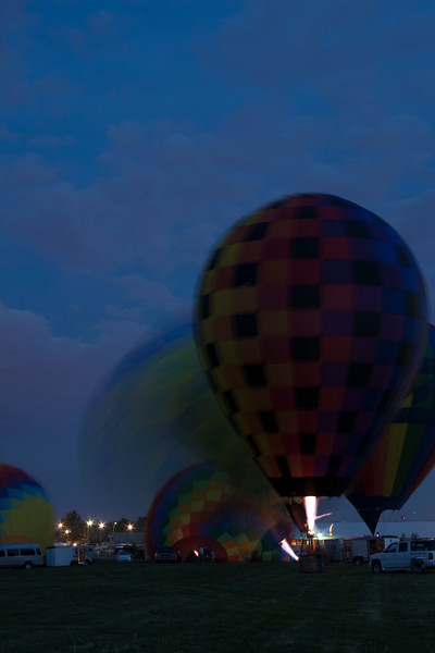 Hot Air Balloons Glow & Show <br /> Getting set up<br /> Allen County Fair 2013