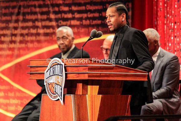 Allen Iverson Naismith Basketball Hall of Fame