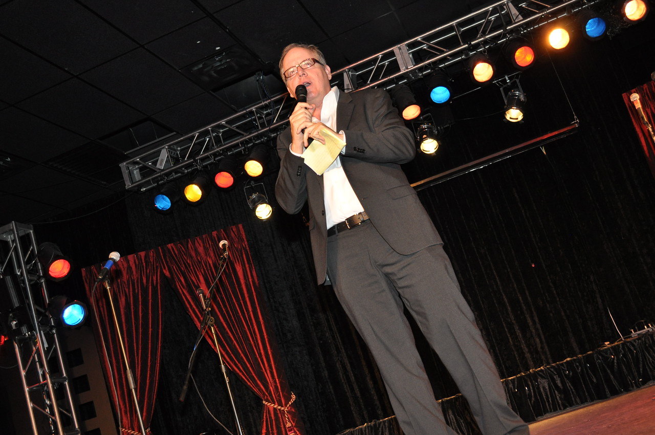 """The Alliance For Plasma Therapies"" Fundraiser with keynote speaker Judge David Young at Las Vegas Rocks Cafe in downtown Las Vegas on the corner of Fremont and Las Vegas Blvd.  Photograph by Mark Bowers Copyright 2010 All Rights Reserved"