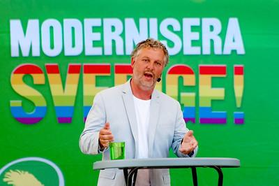Peter Eriksson i Almedalen 2010