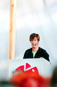 Mona Sahlin i Almedalen 2010