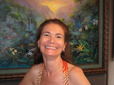 The lovely Letitia Atlantis,  stop by and see her at the Sunshine Art Gallery on Windward Oahu.