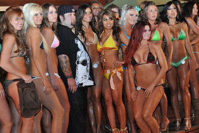 Aloha State Finals Poolside Bikini Contest at Silverton Casino in Las Vegas  Photograph by Las Vegas photographer Mark Bowers.