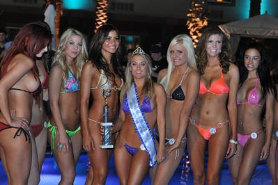 Aloha State Finals Poolside Bikini Contest at Silverton Casino in Las Vegas  Photograph by Las Vegas photographer Mark Bowers.