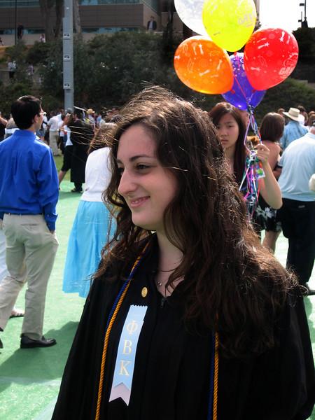 Alona's Graduation, June 2007