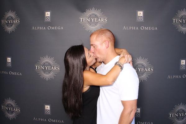 Alpha Omega Winery 10 Year Anniversary