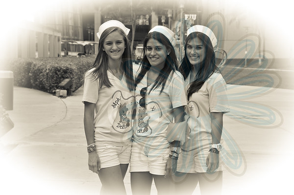 Alpha Xi Delta - Bid Day 9-3-11