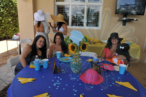 Alpha Xi Delta- Hat's Off Event