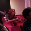 Alumna and Broadway star Carolee Carmello conducts a Master class for students in the Recital Hall of the Performing Arts Center.  Photographer: Gina Muscato