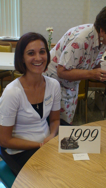 Class of 1999: The AIC/MHA Academy Alumnae Reunion was held June 28, 2009 at the monastery's St. Gertrude Hall.