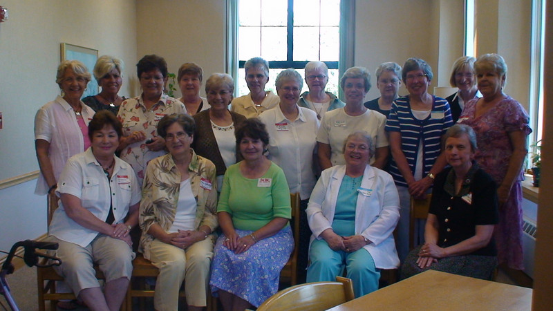 Class of 1959: The AIC/MHA Academy Alumnae Reunion was held June 28, 2009 at the monastery's St. Gertrude Hall.