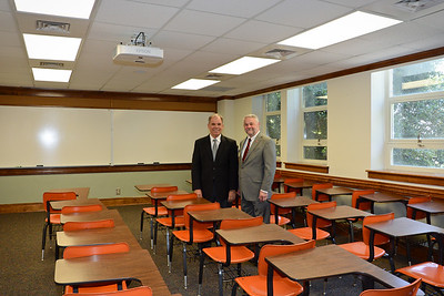 Norris Family Classroom and Jack Mays Bench Dedications