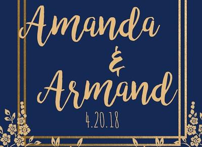 Amanda & Armand 4.20.18