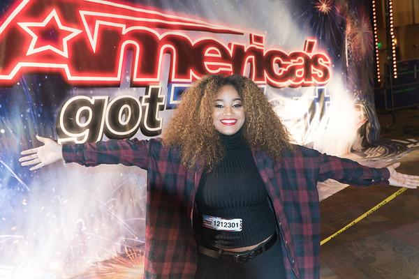 Amari - America's Got Talent Auditions