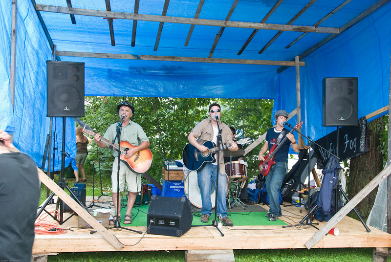 Newfie Fog - the band that played at the Surf and Turf dinner at the marina.