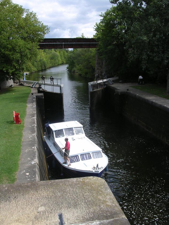 Old Slys Lock
