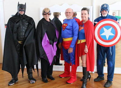 2016 Relay Visit of the Superheroes for a Cure