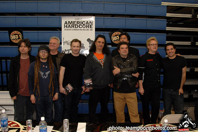 American Hardcore DVD Release Party on Complete Control Radio- at VANS Skatepark - February 24, 2007 - Orange, CA