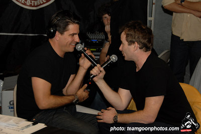 Joe Sib interviews Paul Rachman the director of American Hardcore on Complete Control Radio - American Hardcore DVD Release Party on Complete Control Radio- at VANS Skatepark - February 24, 2007 - Orange, CA