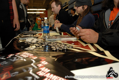 American Hardcore DVD Release Party on Complete Control Radio- at VANS Skatepark - February 24, 2007 - Orange, CA