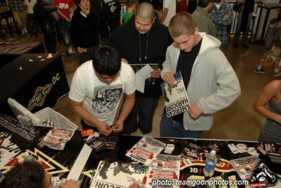 Lots of swag to giveaway - American Hardcore DVD Release Party on Complete Control Radio- at VANS Skatepark - February 24, 2007 - Orange, CA