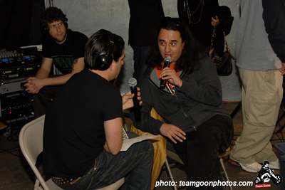 Joe Sib interviews Steven Blush the writer of American Hardcore on Complete Control Radio - American Hardcore DVD Release Party on Complete Control Radio- at VANS Skatepark - February 24, 2007 - Orange, CA