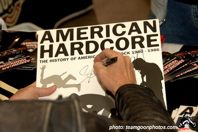 American Hardcore soundtrack on Vinyl - American Hardcore DVD Release Party on Complete Control Radio- at VANS Skatepark - February 24, 2007 - Orange, CA