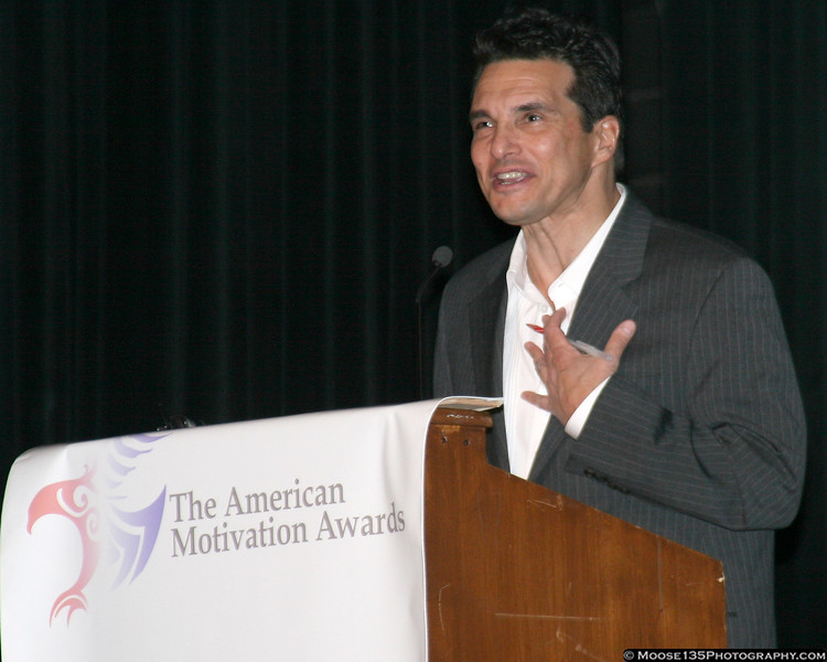 January 2, 2008 - American Motivation Awards: Bob Buchmann, Master of Ceremonies