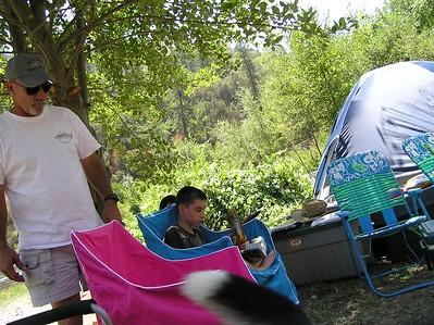 American River Rafting 2004