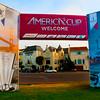 Americas Cup Village on Marina Green