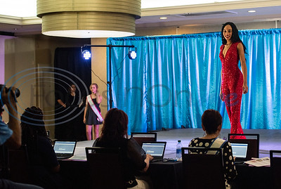 Mahalia Ratcliff of Center, competes in the America's Majestic Miss Texas pageant at the Holiday Inn S. Broadway in Tyler on Sunday, July 19, 2020. She is involved with Center High School Athletics, FFA and Culinary Club. She performs community service with the Adopt-a-Highway program.