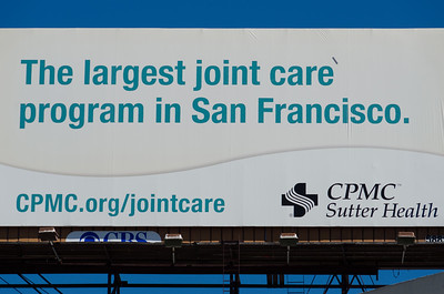 """Of course they have good """"joint"""" care in SF!"""