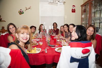Amigas Christmas party 0036