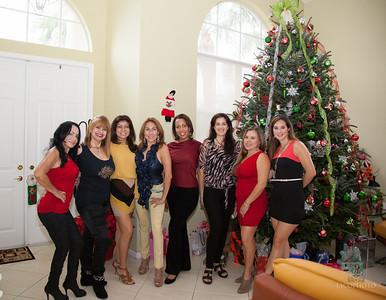 Amigas Christmas party 0031