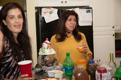 Amigas Christmas party 0022