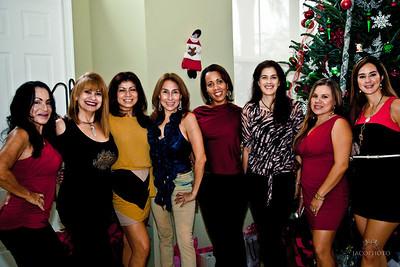 Amigas Christmas party 0032