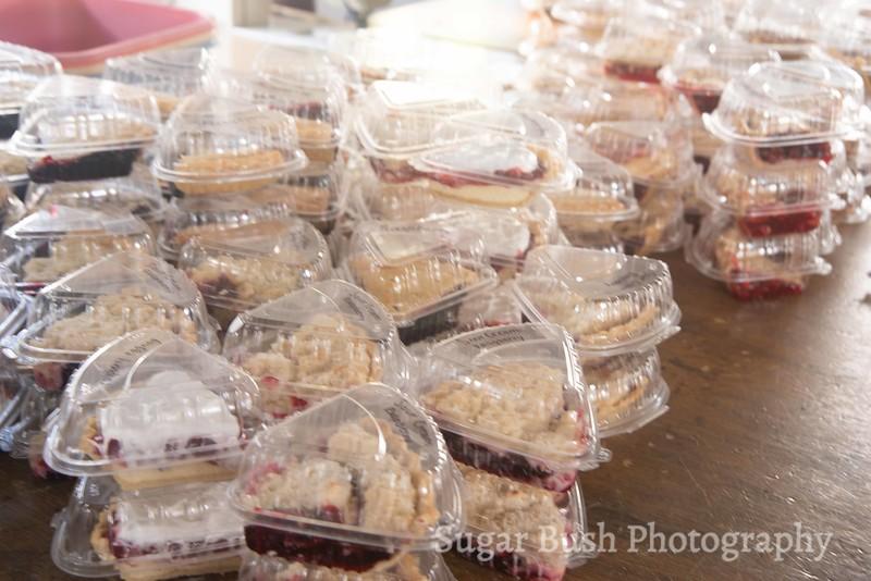 Amish Barn Raising Meal